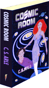 Shown here is the Paperback edition of Cosmic Room